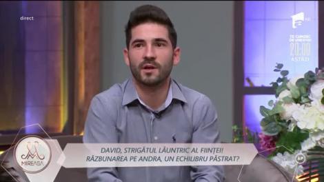 David, scrisoare de dragoste pentru Cătălina: Regret că nu am avut mai mult curaj. Am fost slab și am pierdut