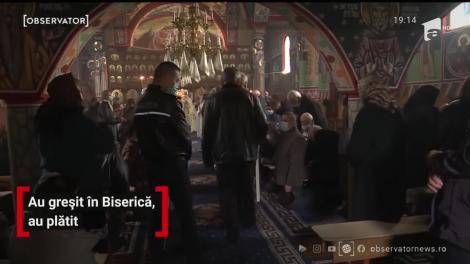 Poliţişti, jandarmi şi inspectori DSP, razie în bisericile din Suceava