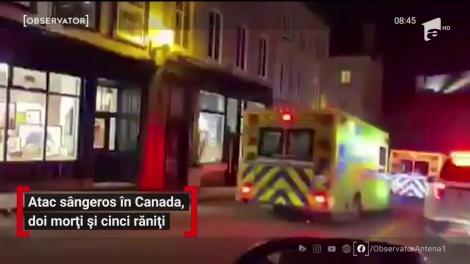 Atac sângeros în Canada soldat cu doi morți și cinci răniți