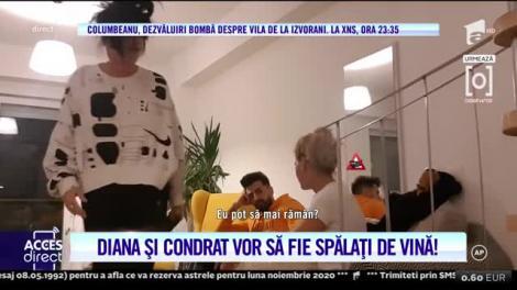 Diana şi Condrat, filmați cu camera ascunsă. Ce au discutat