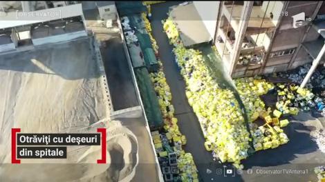 Otrăviți cu deșeuri din spitale
