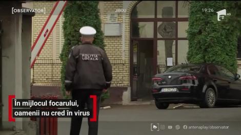 În mijlocul focarului, oamenii nu cred în virus