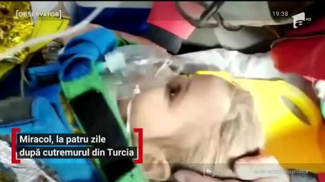 Miracol, la patru zile după cutremurul din Turcia