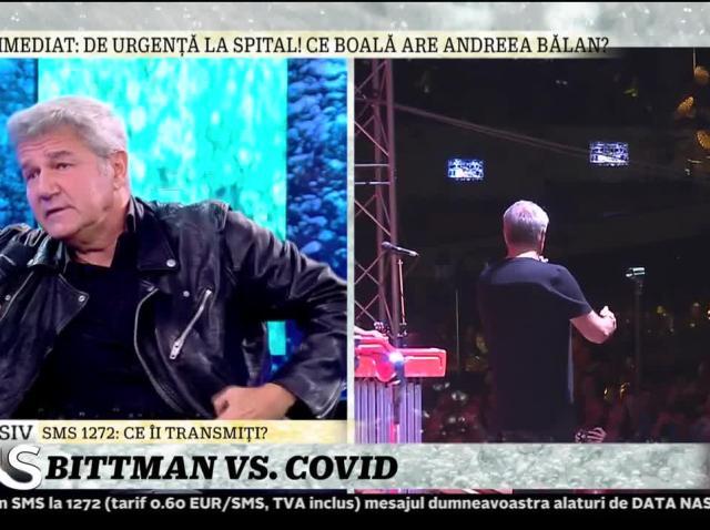 """Dan Bittman, despre scandalul Covid: """"Realitatea îmi arată altceva"""""""