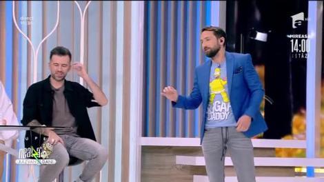 Ce bachata sau samba! Stai să vezi cum dansează Dani și Răzvan capoiera sau perinița: La nuntă vreau să trec prin toate dansurile!