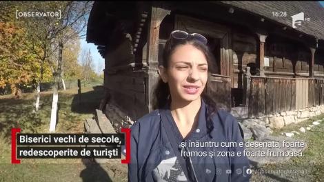 Biserici vechi de secole, redescoperite de turiști