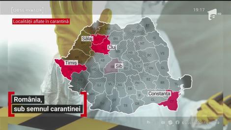 România, sub semnul carantinei