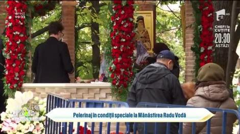 Pelerinaj în condiții speciale la Mănăstirea Radu Vodă