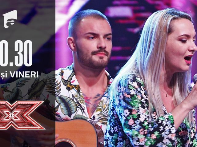 X Factor 2020: Oana și George Indru - Give In To Me