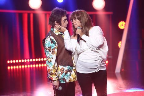 Te cunosc de undeva 2020: Romică Țociu și Adriana Trandafir se transformă în Birkin & Serge Gainsbourg - Je T'aime,...Moi Non Plus