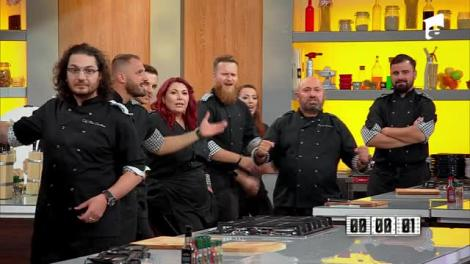 """Cine a câștigat cel de-al cincilea battle """"Chefi la cuțite""""? Scărlătescu: """"Vreau o minune"""""""