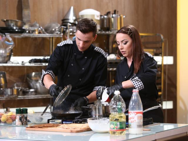 Chef Florin Dumitrescu a țipat la Lavinia Ilcău: Lasă cuțitul ăla!