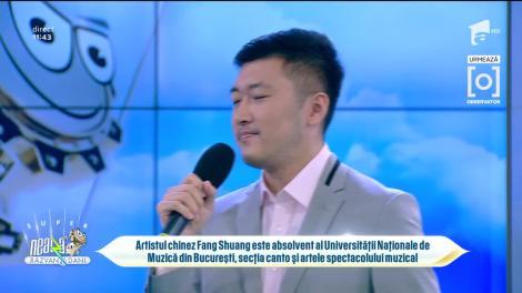 Povestea lui Fang Shuang, chinezul care cântă muzică veche românească: A durat doi ani până am reușit să pronunț litera R