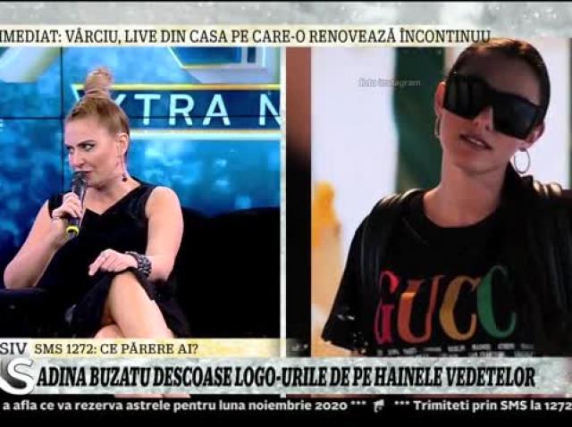 Adina Buzatu descoase logo-urile de pe hainele vedetelor