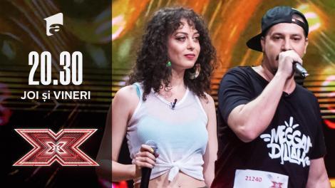 X Factor 2020: Lavinia și Alexandru - Yes Rasta