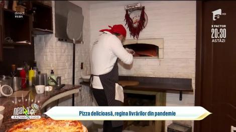 Pizza ca în Italia, regina livrărilor în pandemie
