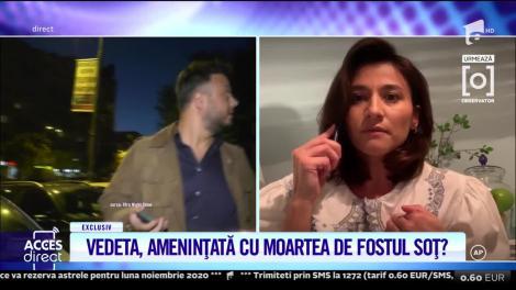 Claudia Pătrășcanu, mărturisiri cutremurătoare! Vedeta ar fi amenințată de fostul soț
