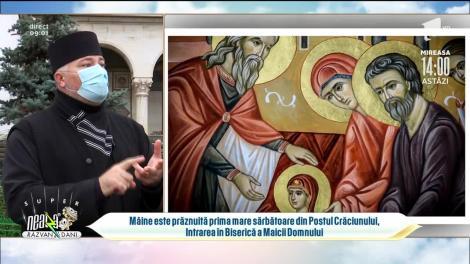 Sărbătoare importantă pentru creștini. Părintele Gabriel Cazacu: Avem nevoie și de vitamine sufletești, nu doar chimice