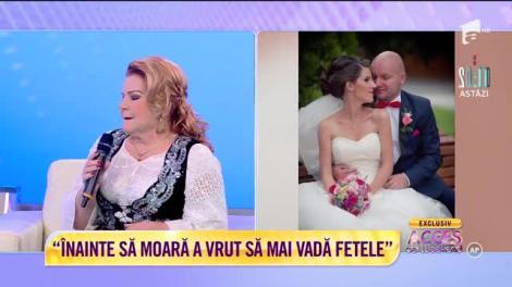 Maria Cârneci, un an de când şi-a pierdut jumătatea: Viața mea nu va mai fi niciodată la fel