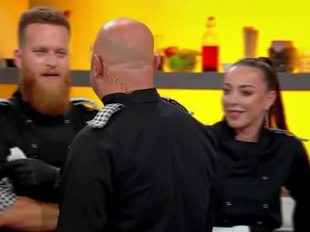 Lavinia Ilcău și Paul Maxim, idilă la Chefi la cuțite!