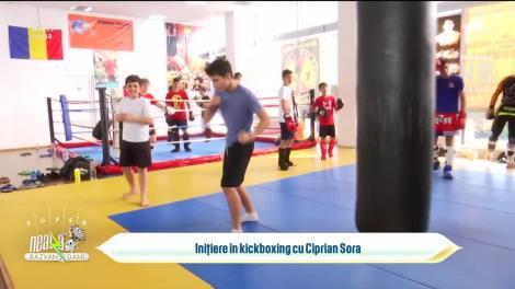 Demonstrație spectaculoasă de kickboxing, în direct, la Neatza cu Răzvan și Dani