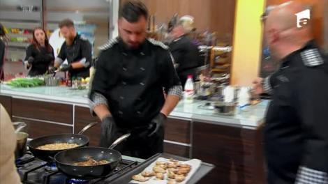 """Chef Cătălin Scărlătescu își """"toacă"""" echipa! Ragnar: """"Ne taie mai ceva ca pe cartofi"""""""