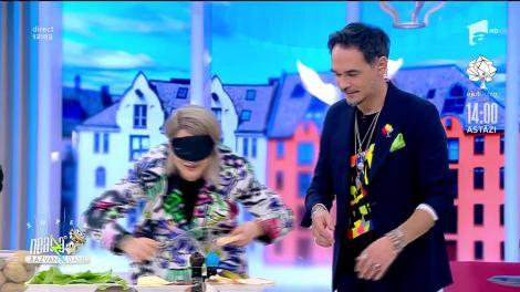 """Adda și Cătălin au gătit cu mănuși de box la """"Neatza""""! Cine a câștigat polonicul de aur"""