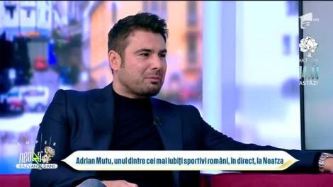 Adrian Mutu, unul dintre cei mai iubiți sportivi români, în direct, la Neatza, de ziua Antenei 1