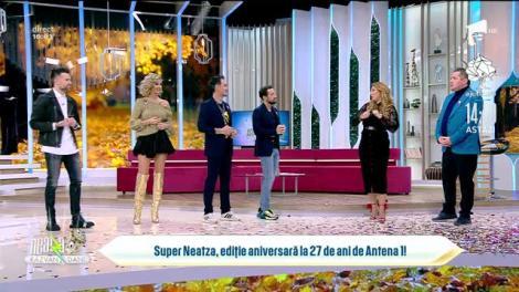Super Neatza, ediție aniversară la 27 de ani de Antena 1