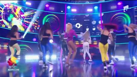 Alina Pușcaș se transformă în Madonna și cântă piesa Hung Up