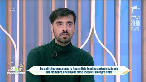 Liviu Teodorescu a lansat o nouă piesă sensibilă, Mulțumesc