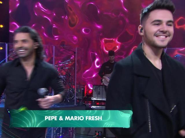 Pepe și Mario Fresh la Marea Unire ZU 2020. Ce a făcut cântărețul latino cu Drăgulin și Popescu înainte să urce pe scenă