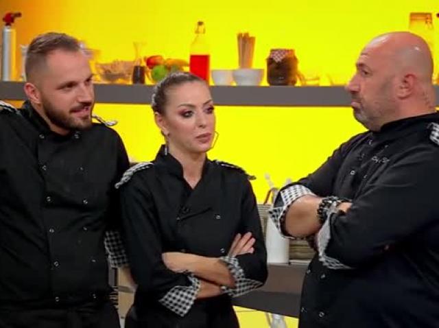 """Chefi la cuțite 30 noiembrie 2020. Adda a venit la """"Chefi la cuțite"""" cu o surpriză uriașă pentru Cătălin Rizea, soțul ei"""