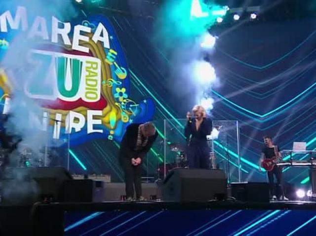 """Lidia Buble și Fuego, duet de senzație pe acordurile melodiei """"Of, inimă"""" la Marea Unire ZU 2020"""