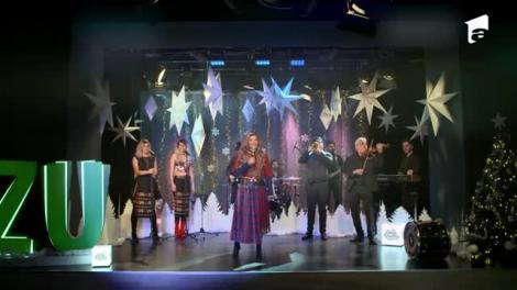 Loredana, surpriză de proporții pe scenă la Marea Unire ZU. A făcut show alături de Agurida
