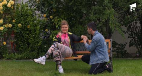 Iulia este cerută în căsătorie de Antonio!