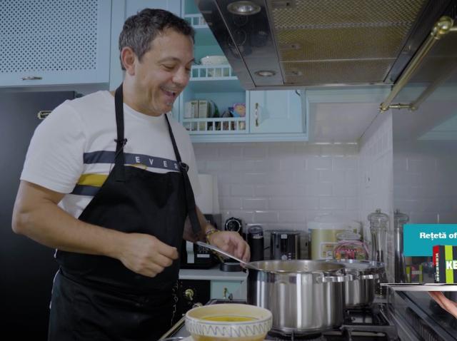 Cum prepară Chef Sorin Bontea ciorba de cartofi. Rețeta inspirată de străbunica