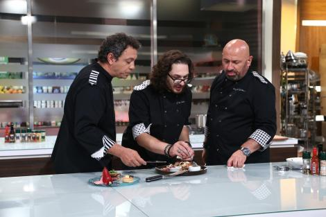 Banda seamănă teroare printe concurenți! Chef Florin Dumitrescu a cedat nervos!