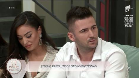 Mireasa 2020, sezon 2. Ștefan nu crede că relația cu Claudia va merge afară. De ce se teme băiatul