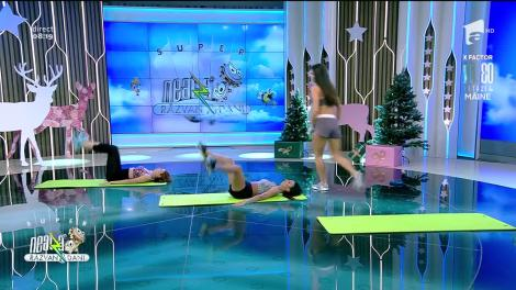 Antrenamentul cardio pentru tonifiere. Fitness cu Diana Stejereanu, la Neatza cu Răzvan și Dani
