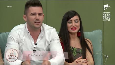 Mireasa 2020, sezon 2. Claudia și Ștefan s-au despărțit. Ce l-a deranjat pe băiat