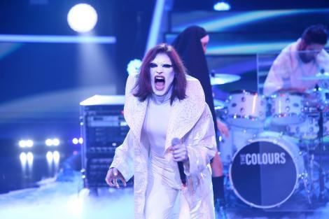 """Toto Dumitrescu se transformă în Marilyn Manson - """"The Dope Show"""", la Te cunosc de undeva!"""