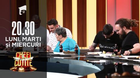"""Concurenții sezonului şapte """"Chefi la cuţite"""", jurați în semifinală"""