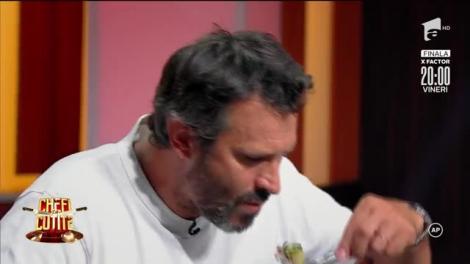 """Degustare """"Main course"""". Chef Antonio Passarelli: """"Nu înțeleg îmbinările"""""""