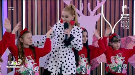 Alina Sorescu și Picii lu' Soreasca, mini concert în platoul de la Neatza cu Răzvan și Dani