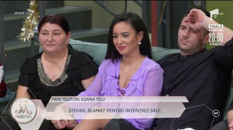 Publicul larg, la telefon cu concurenții din casa Mireasa: Ștefan nu o iubește pe Claudia!