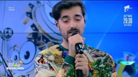 Liviu Teodorescu cântă colindul Florile Dalbe, la Neatza cu Răzvan și Dani