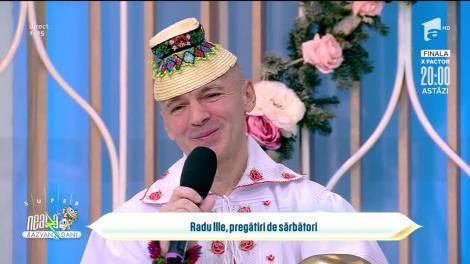 Radu Ille, pregătiri de sărbători: Mă bucur mult că am venit să vă colind!