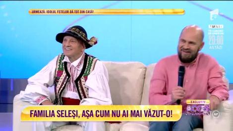 Se înţeleg de minune şi au aceeaşi pasiune! Cosmin Seleşi şi tatăl lui, Ioan Seleşi, ne împărţăşesc cele mai bine păstrate secrete de familie
