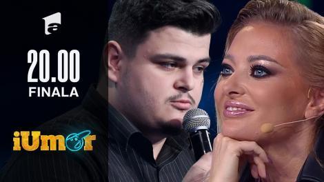 """Mihai Tasici a început în forță finala iUmor. Cheloo s-a bucurat să-l vadă: """"Ai și glume cu grași?"""""""